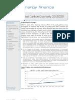 Global Carbon Quarterly Q3 2009