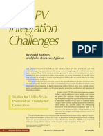 IEEE Power and Energy Magazine Volume 9 issue 3 2011 [doi 10.1109%2Fmpe.2011.940579] Katiraei, K.F.; Agüero, J.R. -- Solar PV Integration Challenges