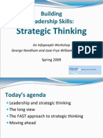 Strategic Thinking part2