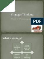 Strategic Thinking part1