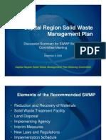 Powerpoint from Dec SWMP Steering Committee Meetings