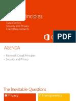 Microsoft Office 365 Cloud Principles