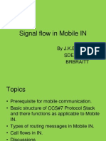 Signal Flow in Mobile In