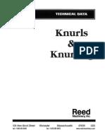 Knurls and Knurling Tech Data Master