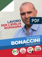 Il documento programmatico di Bonaccini per le Regionali 2014