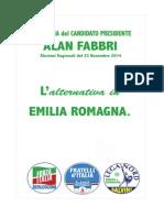 Il programma di Alan Fabbri per le Elezioni Regionali 2014