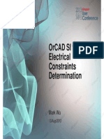 3 OrCAD SI for Electrical Constraints Determination