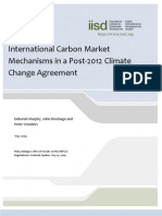 International Carbon Market Mechanisms in a Post-2012 Climate Change Agreement