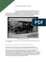 Das Legendäre Tesla Elektro-Automobil 1930