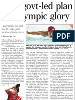 New govt-led plan for Olympic glory, 28 Feb 2009, Straits Times