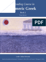 A Reading Course in Homeric Greek, Book 2 - Raymond v. Schoder