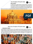 Must See Temples of South India