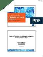 「アジア経済セミナー」(2014年11月10日、12日)配布資料1