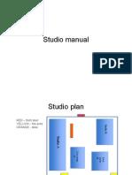 Zoe Studio Manual