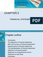 Chapter 2 - Financial Statements