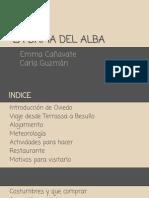 CASTELLANO →LA DAMA DEL ALBA