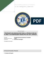 Perfil de Proyecto Investigacion