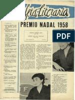 La Estafeta Literaria 1958
