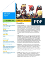 DRC Situation Report October 2014