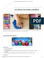 Manualidades_ Tizas, Pintura Hinchable y Plastilina Casera _ de Otra Manera