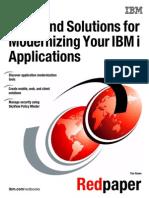 Modernizing IBM i Applications