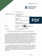 New ICE Memo on Secure Communities 14 1120 Memo Secure Communities