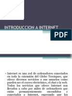 Introduccion a Internet