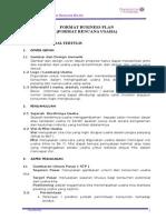 (Contoh) Format Business Plan