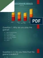 gta questionair results