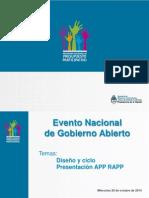 Gobierno Abierto (Presentación 29 de Octubre)