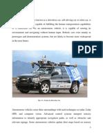 Seminar Driverless Car