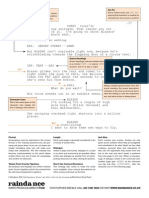 film script format