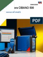 Cibano 500 Manual
