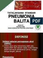 Pneumonia Balita