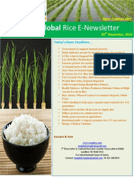 20th November,2014 Daily Global Rice E-Newsletter by Riceplus Magazine