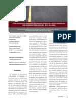COMPORTAMIENTO REOLÓGICO Y ESTABILIDAD TÉRMICA DE ASFALTO MODIFICADO CON POLÍMEROS TRIBLOQUE (SBS, SBS-G-MA, SEBS).