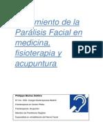 Tratamiento de La Parálisis Facial en Medicina Fisioterapia y Acupuntura