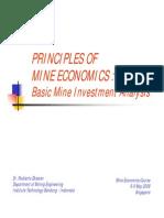 Principle Mining Economics01