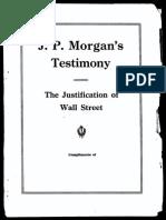 JPMorgan Testmony 1912