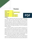 Piping material selection-titanium
