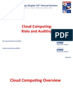 E3 - Cloud Computing Risks and Auditing