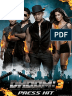 Dhoom3 Press Kit