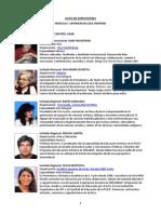 Expositores Huellas Cusco y Pucallpa