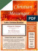 November 23 Newsletter