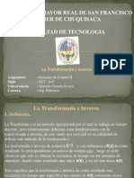 Control II - Transformada z Inversa