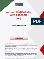 PPT N T Año Escolar 2015