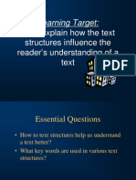 understanding text structures ppt