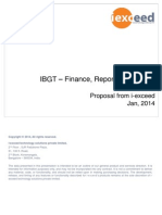 DBS IBGT Finance Reporting Systems - I-exceed Proposal v 0 2