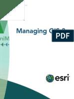 Managing GIS 3
