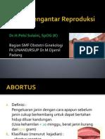 Kuliah Pengantar Reproduksi